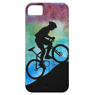 Mountain Biker Against Sunset iPhone 5 Cover