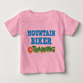 Mountain Biker In Training (Future) Baby T-Shirt