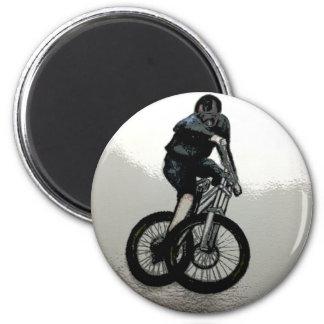 Mountain Biker MTB BMX CYCLIST Magnet