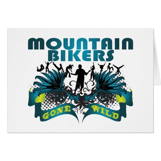 Mountain Bikers Gone Wild Card