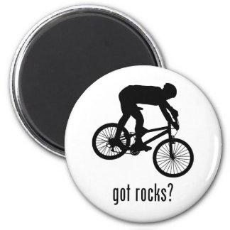 Mountain Biking 6 Cm Round Magnet