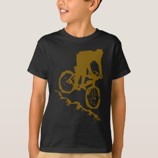 Mountain Biking Bicycle T-Shirt