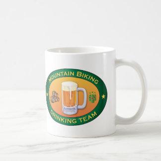 Mountain Biking Drinking Team Coffee Mug