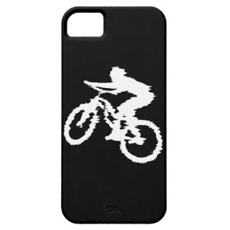 Mountain Biking Fast iPhone 5 Cases