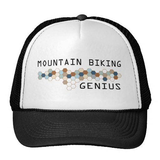 Mountain Biking Genius Trucker Hat