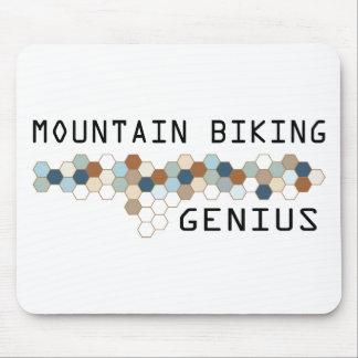 Mountain Biking Genius Mouse Mats