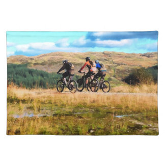 MOUNTAIN BIKING PLACEMAT