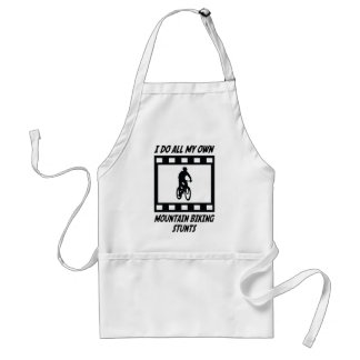 Mountain Biking Stunts Standard Apron