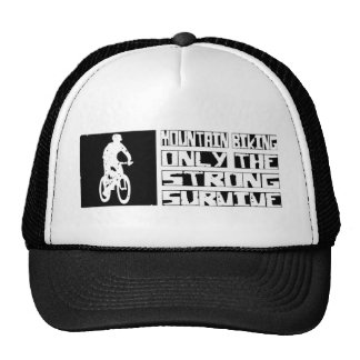 Mountain Biking Survive Cap