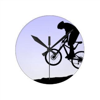 Mountain Biking Wallclock