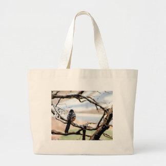 Mountain Bird Jumbo Tote Bag