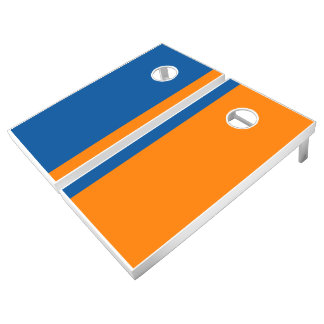 Mountain Blue and Orange Add Your Logo