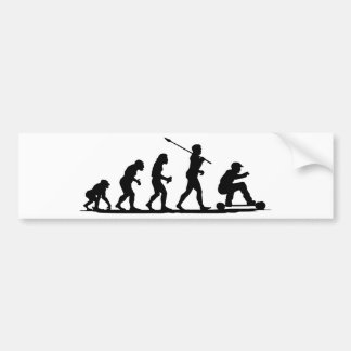 Mountain Boarding Bumper Sticker