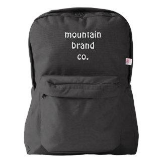 mountain brand back pack black backpack