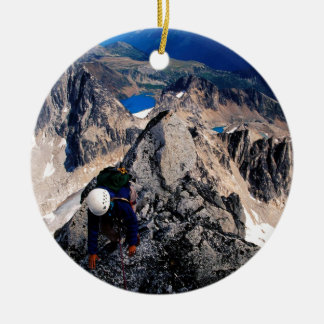 Mountain Bugaboo Spire Canada Christmas Ornament