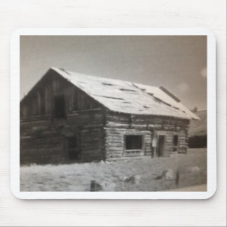 Mountain Cabin Mouse Pad