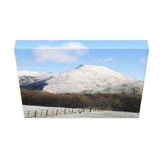 Mountain canvas canvas print
