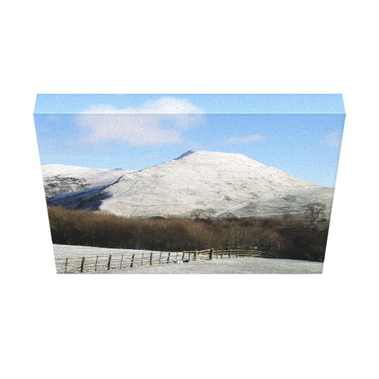 Mountain canvas canvas print