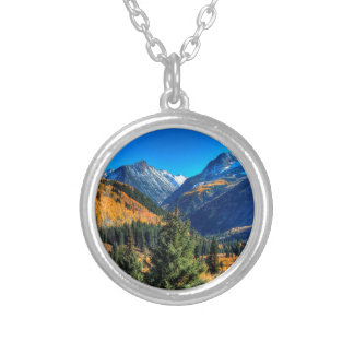 Mountain Center Creek Forest Personalized Necklace