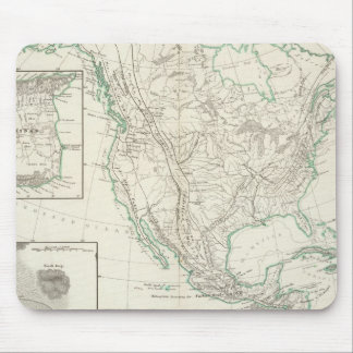 Mountain chains in North America Mouse Pad