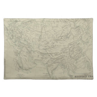 Mountain Chains Placemat