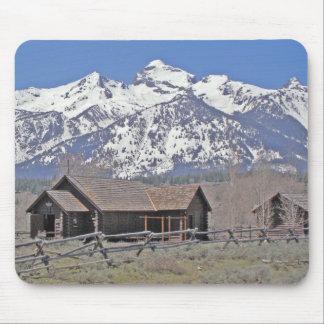 mountain chapel mouse mat