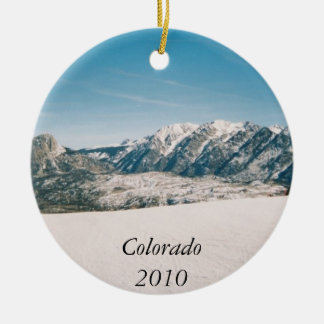 Mountain Christmas Ornament