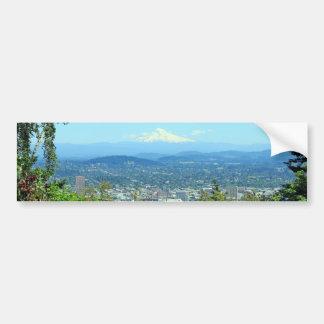Mountain City Scenic, Portland, OR Bumper Sticker