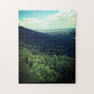 Mountain Cliff Jigsaw Puzzle