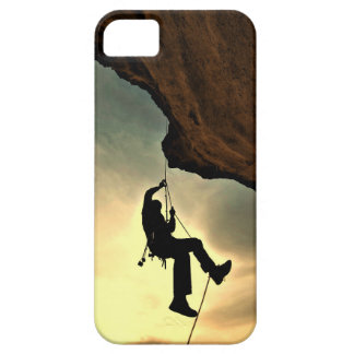 Mountain climber beautiful scenery iPhone 5 cover