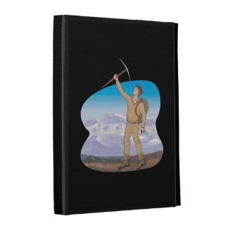 Mountain Climber iPad Cases