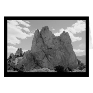 Mountain Climber Note Card (blank)