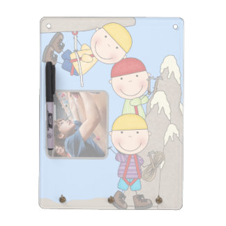 Mountain Climbing Add Photo Dry Erase Board