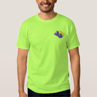 Mountain Climbing Embroidered T-Shirt