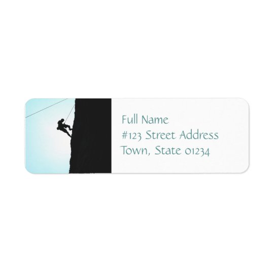 Mountain Climbing Mailing Labels