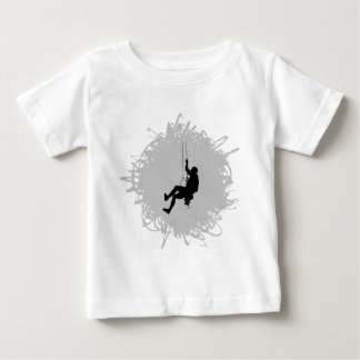 Mountain Climbing Scribble Style Baby T-Shirt