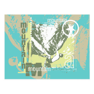 Mountain Climbing Tshirts and Gifts Postcard