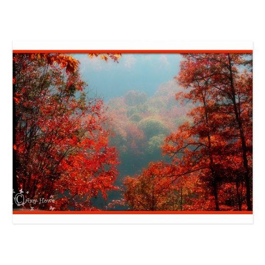 mountain colours postcard