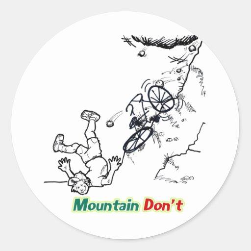 Mountain Don't Sticker