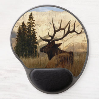 Mountain Elk at rest Gel Mouse Mat