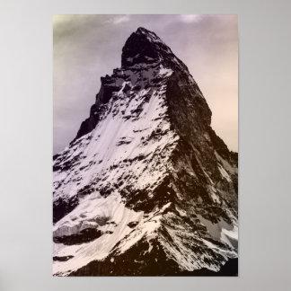 Mountain Everest Famous Landscape Tibet Snowy Poster
