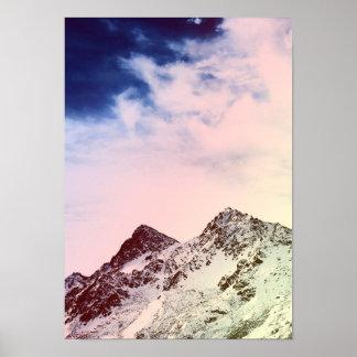 Mountain Everest Nature Landscape Famous Peak Poster