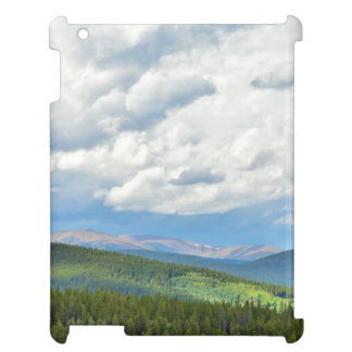 Mountain Evergreens and Skyline iPad Cover