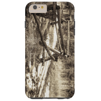 Mountain Fence Tough iPhone 6 Plus Case