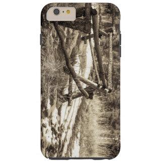 Mountain Fence Tough iPhone 6 Plus Case