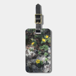 Mountain Flowers Luggage Tag