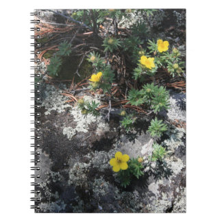 Mountain Flowers Spiral Notebook