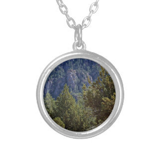 Mountain forest pendant