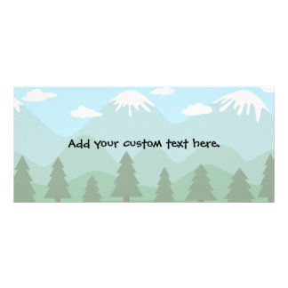 Mountain Forest Rack Card