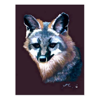 Mountain Fox Hunters Wildlife Forest Animals Gifts Postcard
